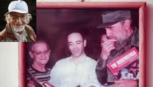 Fidel Castro con Irwin Corey